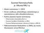 suomen vammaisurheilu ja liikunta vau ry