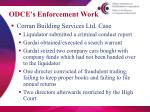 odce s enforcement work1