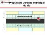 propuesta derecho municipal de v a