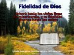 fidelidad de dios2