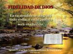 fidelidad de dios5