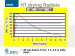 ht drying radiata