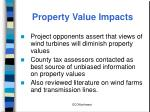 property value impacts