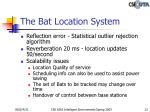 the bat location system2