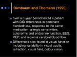 birnbaum and thomann 1996