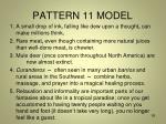 pattern 11 model