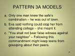 pattern 3a models