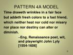 pattern 4a model