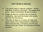 pattern 5 model
