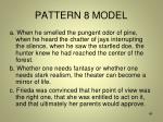 pattern 8 model