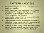 pattern 9 models