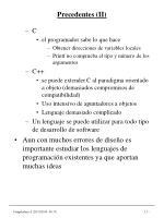 precedentes ii