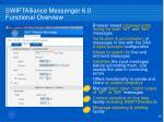 swiftalliance messenger 6 0 functional overview