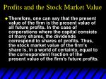profits and the stock market value3