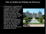 parc et jardins du ch teau de cheverny