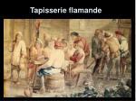 tapisserie flamande
