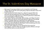 the st valentines day massacre