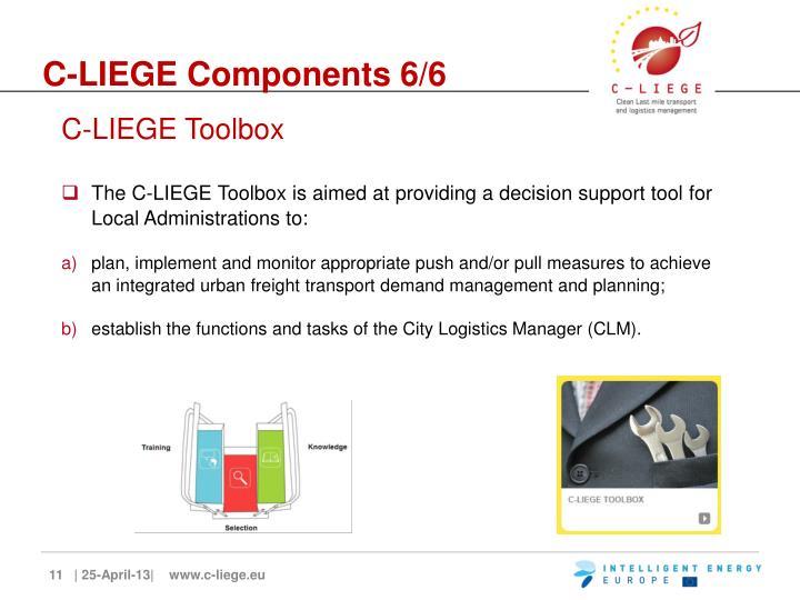 C-LIEGE Components 6/6