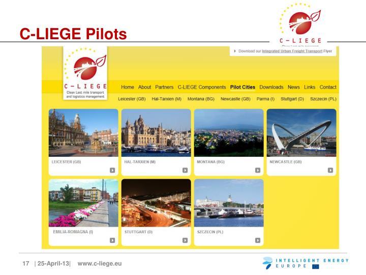 C-LIEGE Pilots