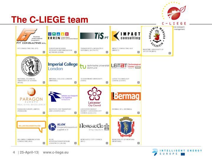 The C-LIEGE team