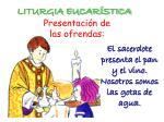 liturgia eucar stica