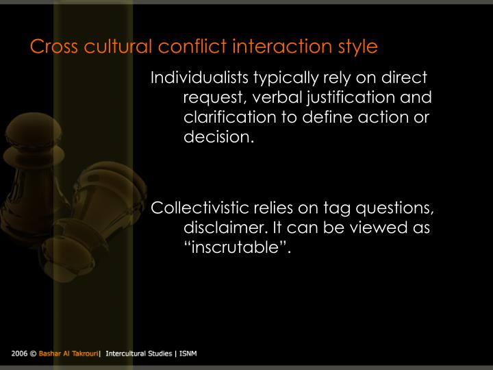 cross cultural interactions