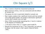 chi square 21