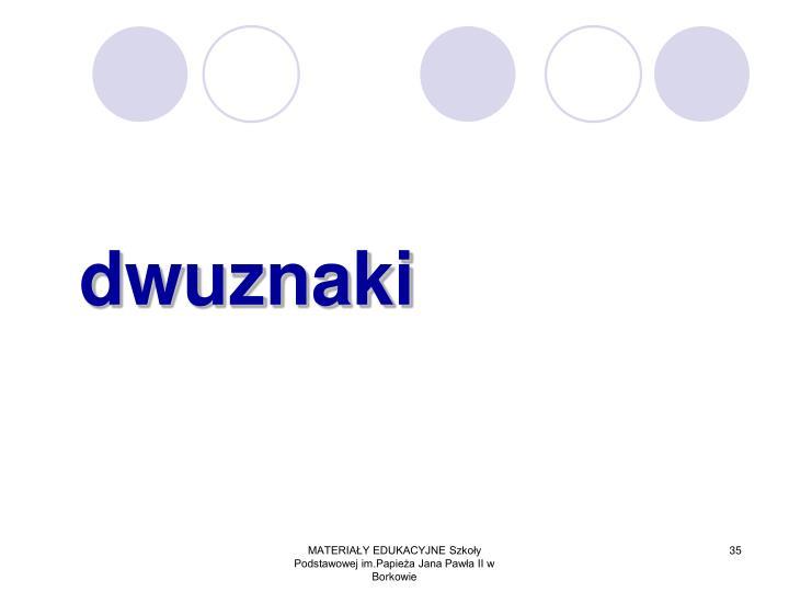 dwuznaki