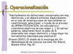 2 operacionalizaci n