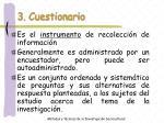 3 cuestionario
