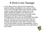 a drink in the passage1