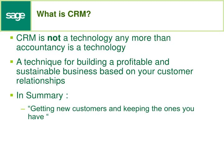 customer relationship management summary Customer relationship management (crm) is a term for the principles, practices and guidelines an organization abides by when dealing with customers topics what's new.