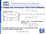3 voltage sag assessment under interval measure