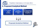 4 proposed analytical method