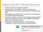 gestione del lbp in medicina del lavoro1