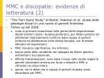 mmc e discopatie evidenze di letteratura 2