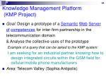 knowledge management platform kmp project