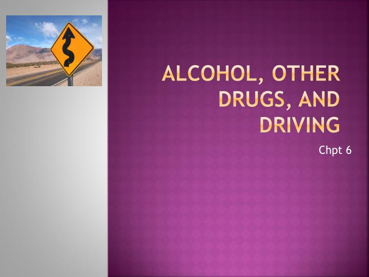 alcohol other drugs and driving n.