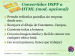 convertidor dspf a html mod opcional