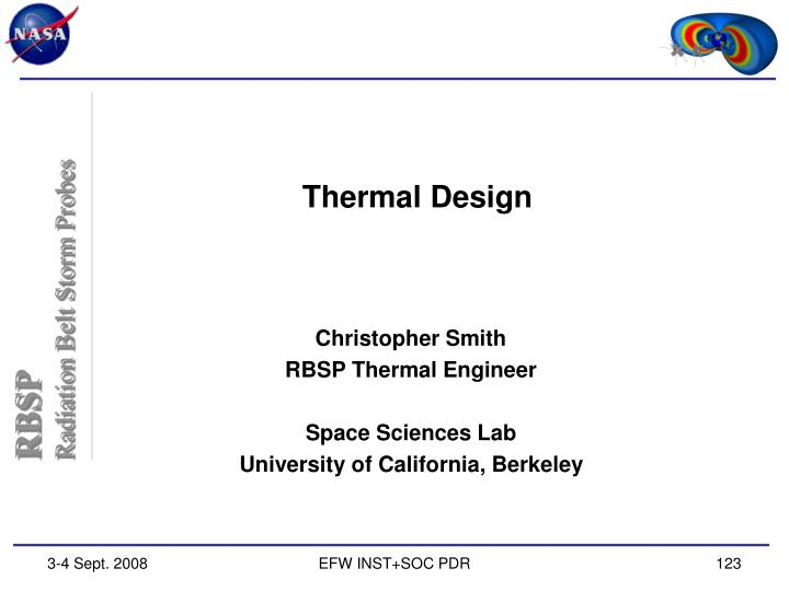 thermal design n.