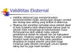 validititas eksternal1