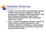 validititas eksternal3