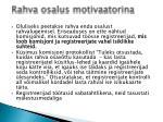 rahva osalus motivaatorina