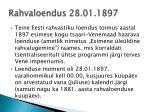 rahvaloendus 28 01 1897