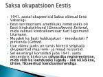 saksa okupatsioon eestis