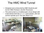 the hmc wind tunnel