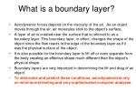 what is a boundary layer