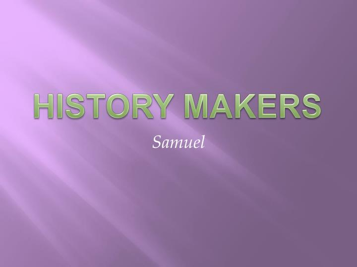 history makers n.