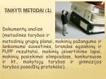 taikyti metodai 1