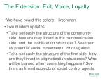the extension exit voice loyalty